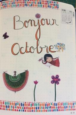 Présentation du mois d'octobre